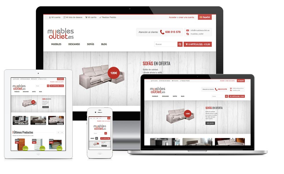 Ofertas de muebles online good ofertas de muebles en el for Muebles ofertas online