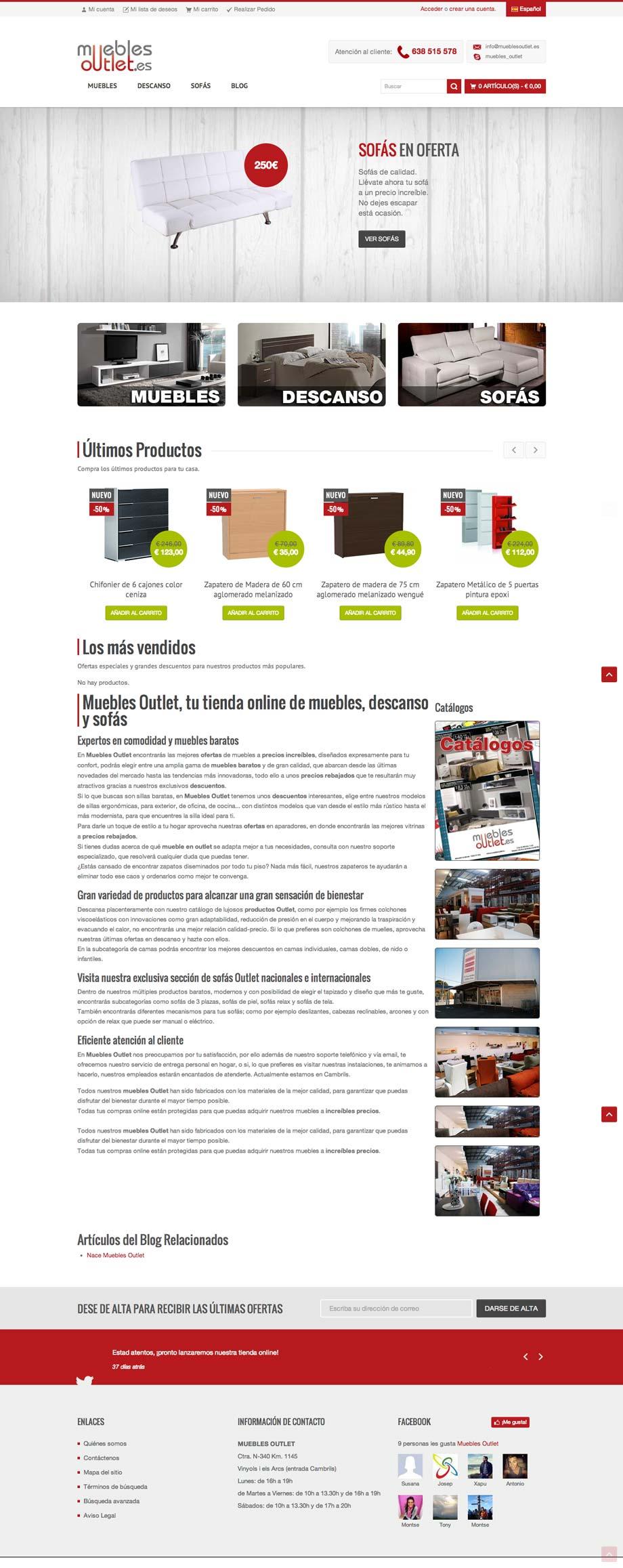 Muebles Outlet Kiwop # Muebles Pagina Web