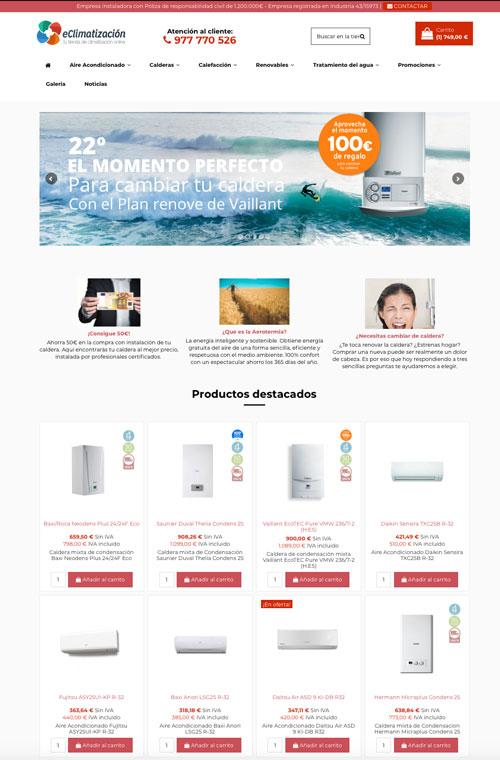 eClimatización Web