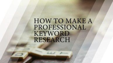 keyword analysis how to