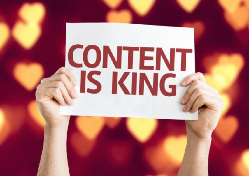 el contingut és el rei