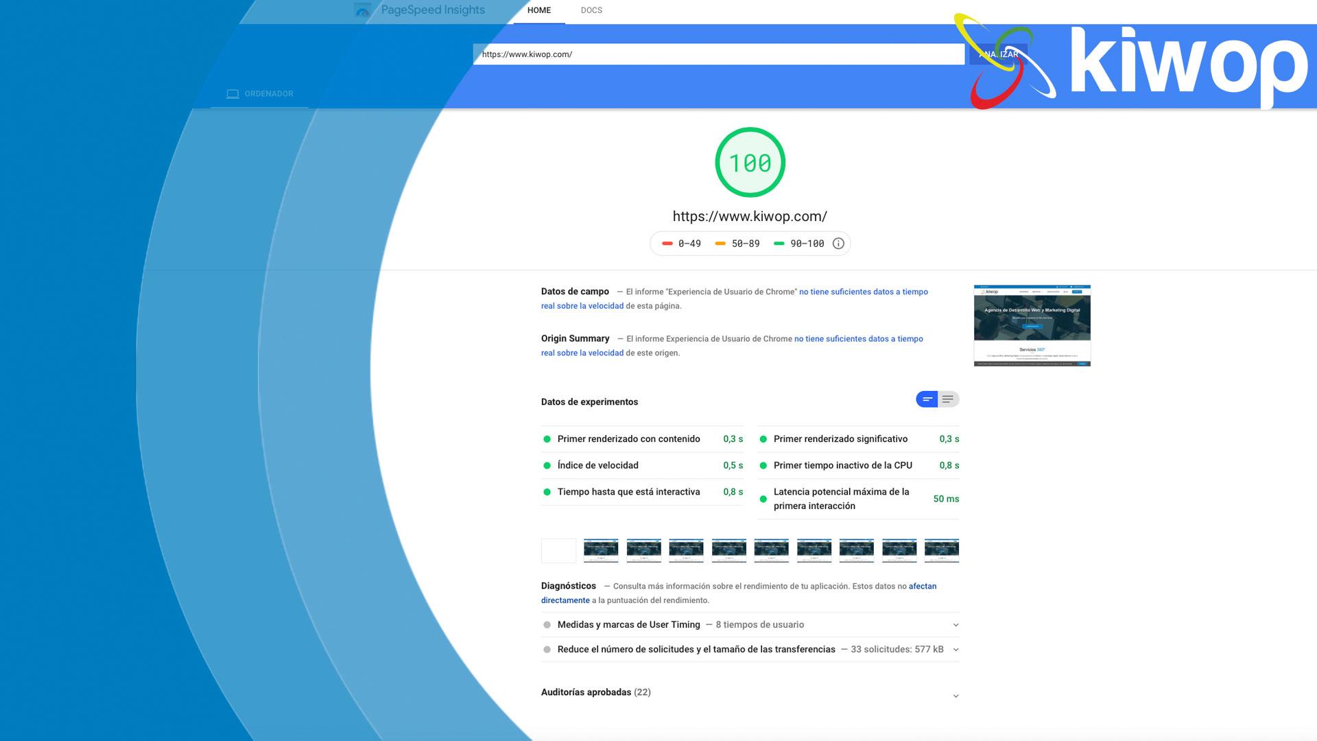 Optimización rendimiento web