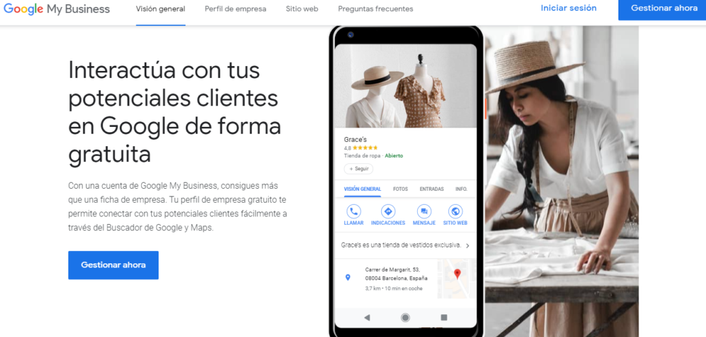 Haz SEO local con Google My Business