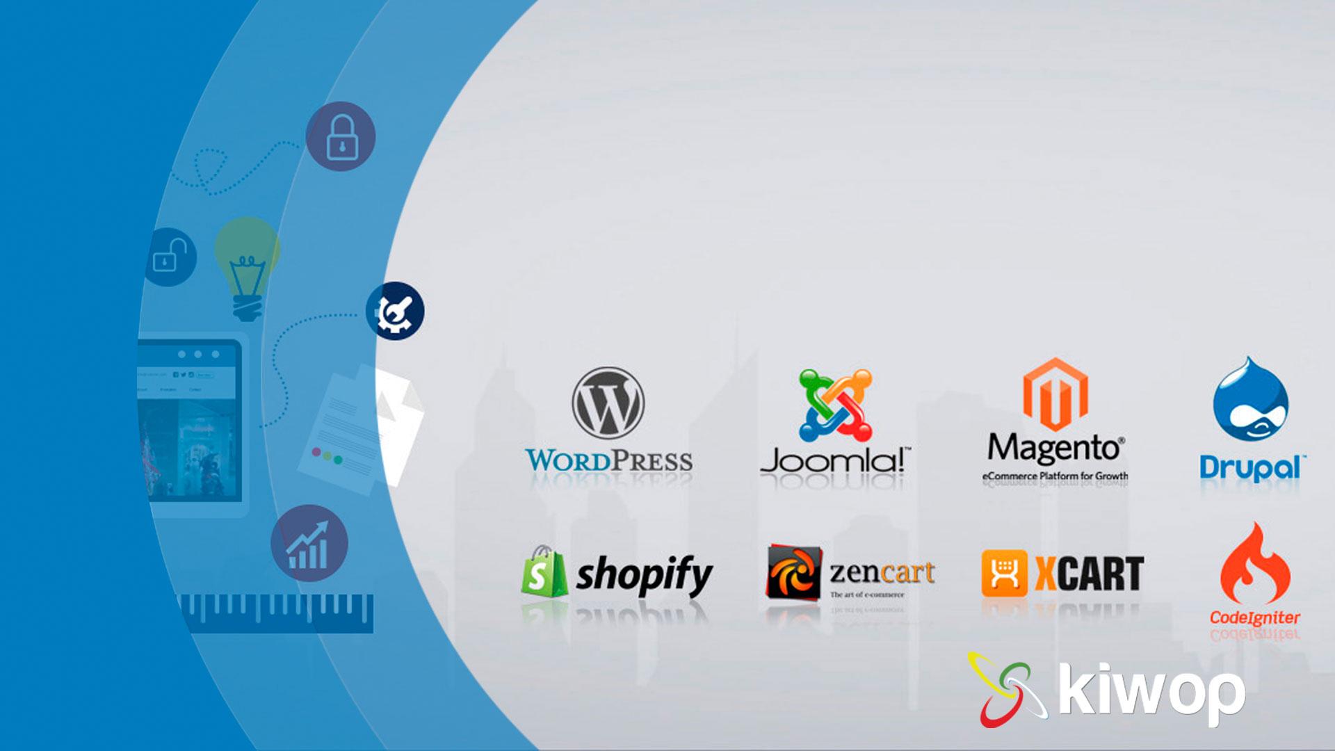 cms para el desarrollo web