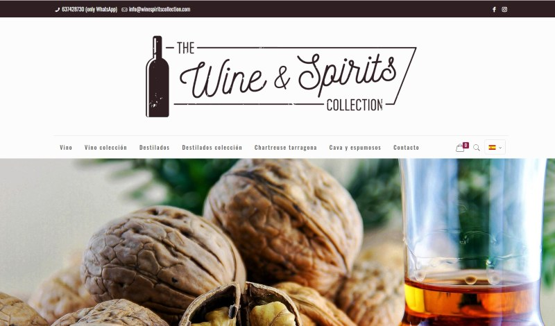 Example B2C The Wine & Spirits Collection
