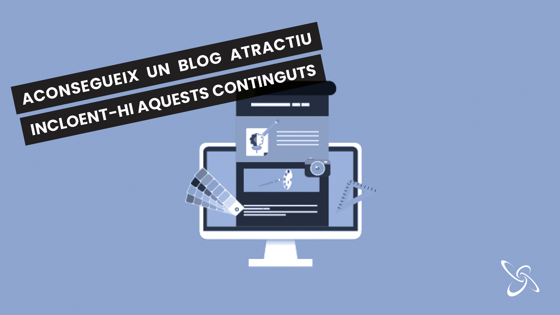 Aconsegueix un blog atractiu incloent-hi aquests continguts