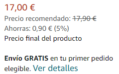 Detalla el precio