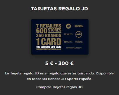 Offers gift cards