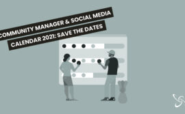 Community Manager & Social Media Calendar 2021: save the dates