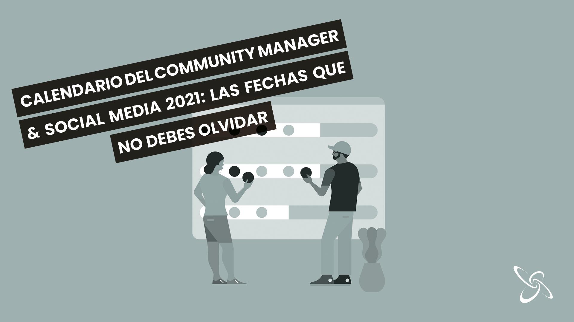 Calendario del Community Manager & Social Media