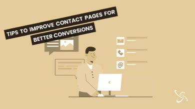 Tips to improve contact pages for better conversions
