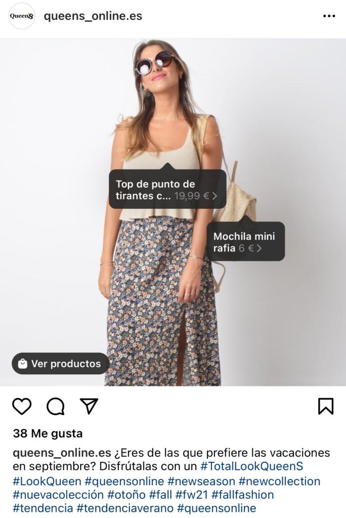 El shoppable content es tendencia en e-comemrce este 2021