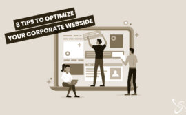 8 tips to optimize your corporate website