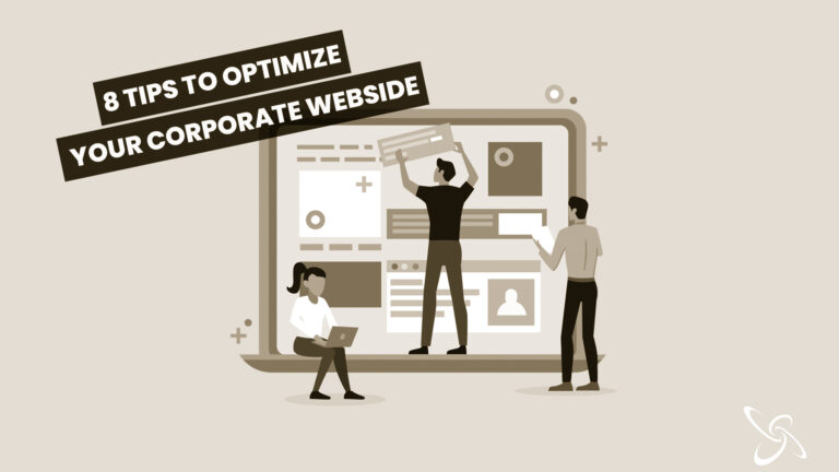 8 tips to optimize your corporate webside