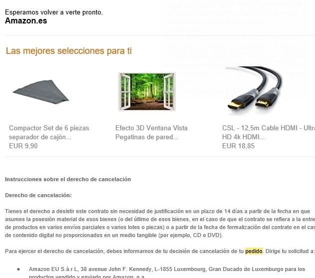 l'exemple de cross-selling i upselling d'Amazon