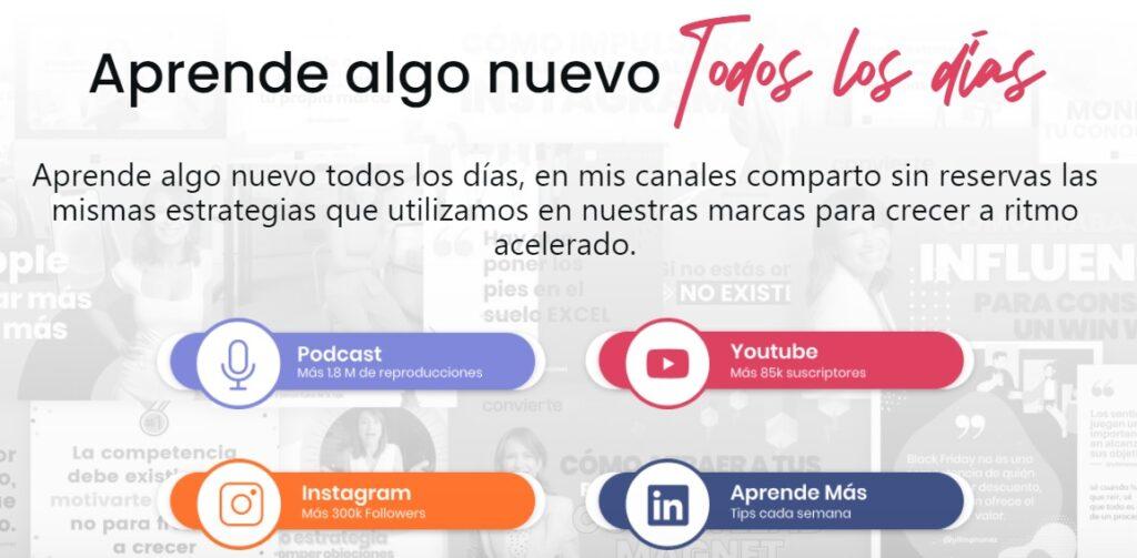 Vilma Nuñez es un claro ejemplo de estrategia de inbound marketing