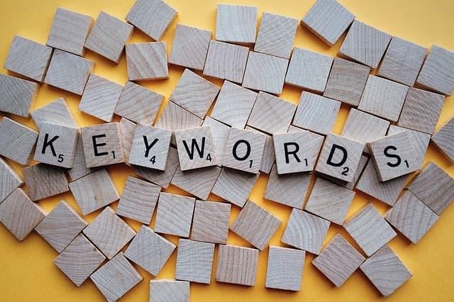 keywords posicionamiento SEO